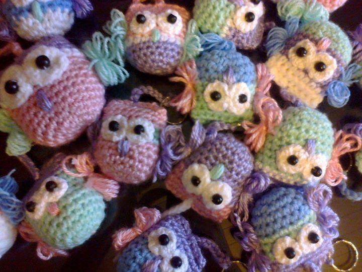 Buhos crochet