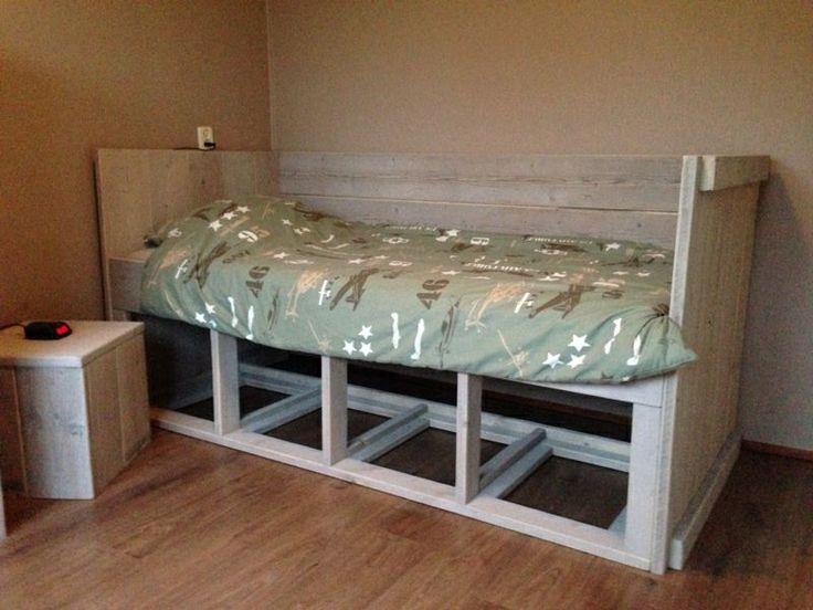 Tienerkamer-bed