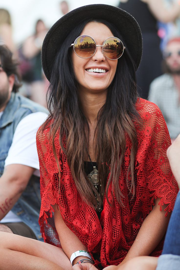 Street Style: Coachella 2014 - Vogue - but more blended
