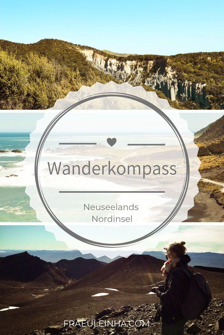 Wanderkompass Fur Neuseelands Nordinsel Neuseeland Neuseeland