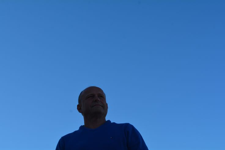 L1M1AP1 Portrait in front of a morning sky. ISO 200 35mm f/8 1/250 Auto No flash.