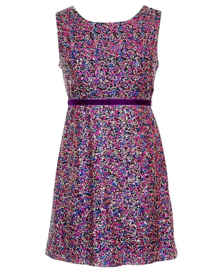 Emmy's Winter Dance Rare Editions Kids Dress, Girls Sequin Party Dress - Kids Dresses - Macy's