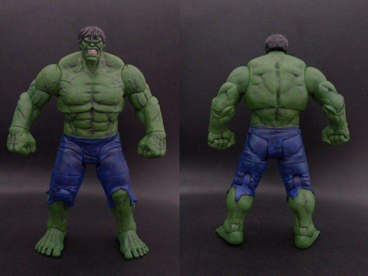 Hulk Edward Norton (Marvel Select) Custom Action Figure