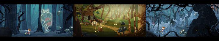 Forest Heaven (Shortfilm) on Behance