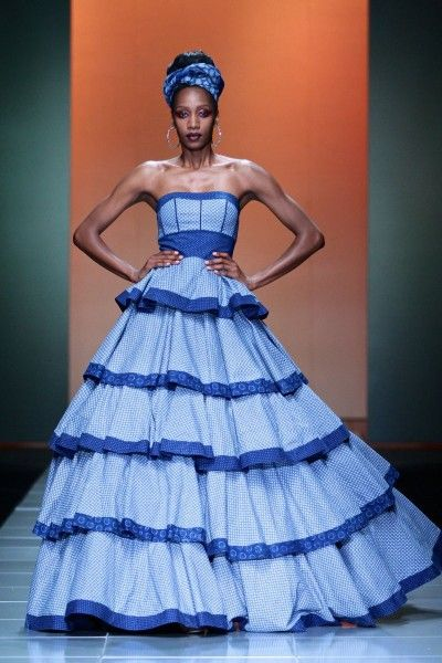Mercedes-Benz Fashion Week Africa 2013: Bongiwe Walaza