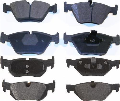 New-8-Front-amp-Rear-Ceramic-Brake-Pads-for-a-06-13-BMW-128I-323I-325I-328I-328XI