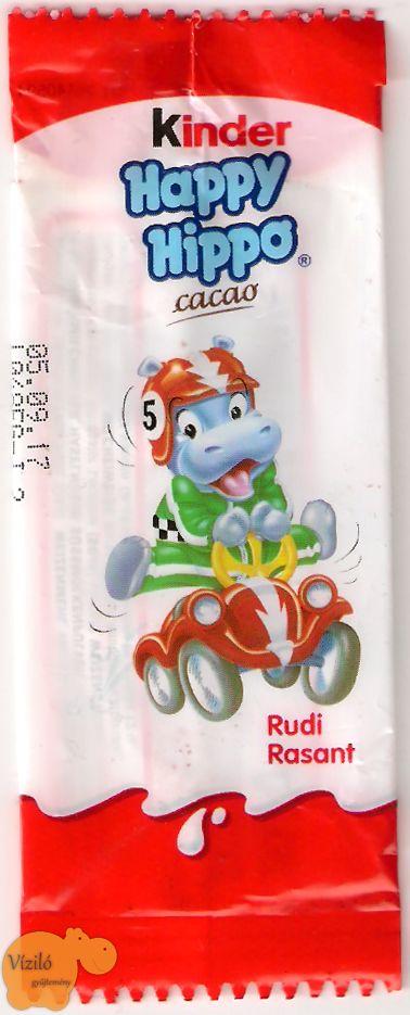 No. 800 | víziló | csomagolás | Kinder Happy Hippo | hippo | wrapping