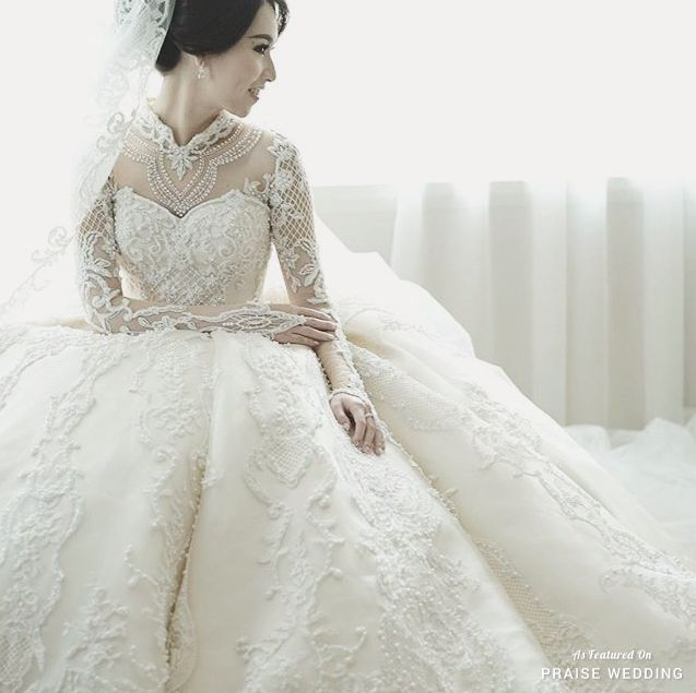Dress: Tinara Bridal