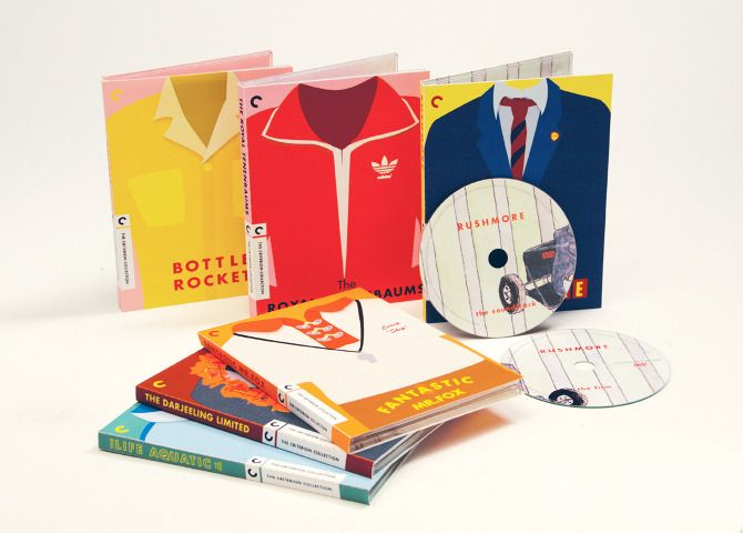 Wes Anderson Special Edition DVDs / megumik