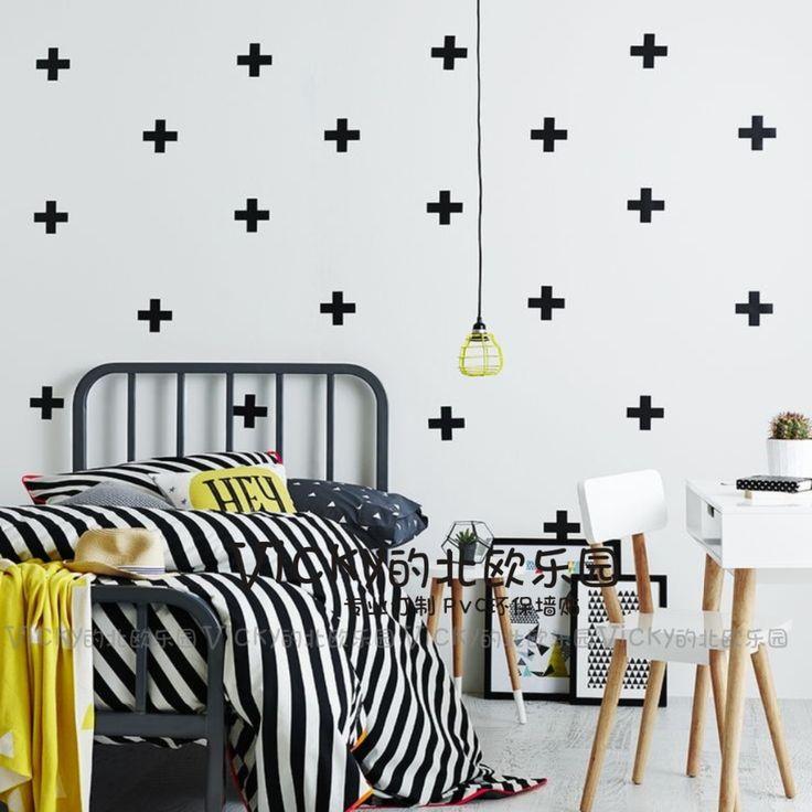Vind meer muurstickers informatie over 50 stuks set kidu0026#39;s slaapkamer ...