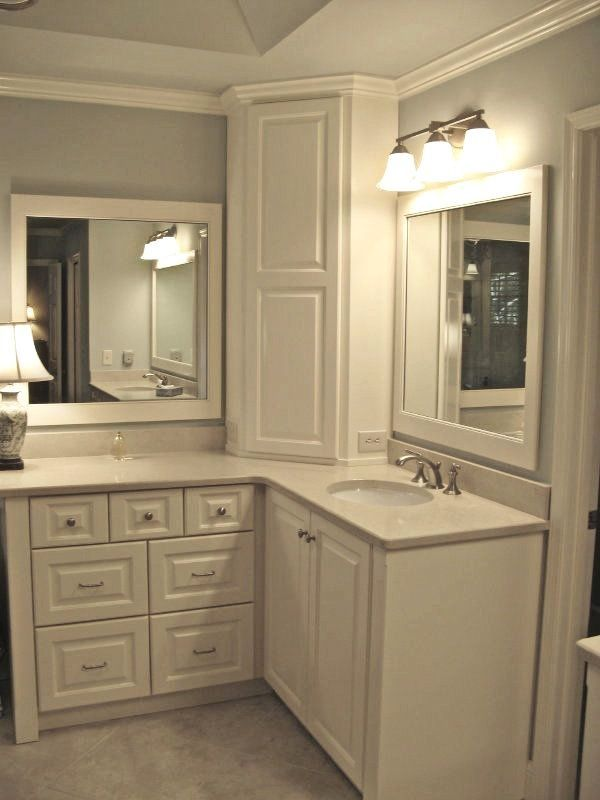 Corner Bathroom Storage Cabinets Fresh Custom Made Shaker Style