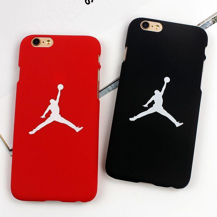 7 y 7 Plus Hombre Volador Michael Jordan Frosted Caso Duro de la PC Para iphone 7 7 plus 6 6 s más 5/5S sí contraportadas casos fundas Capa