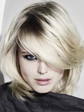 i like these bangs the best so far  platinum blonde hair