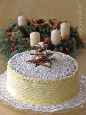 egycsipet: Adventi mézes torta