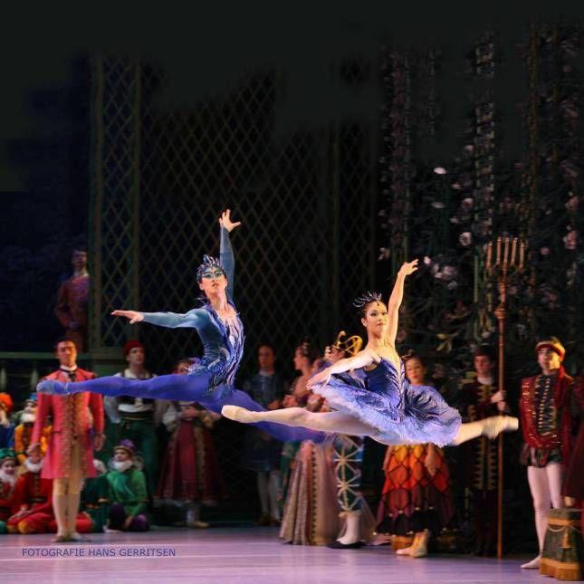 """© Hans Gerritsen  """"The Sleeping Beauty Doornroosje"""" choreography by Marius Petipa/Marcia Haydée, Koninklijk Ballet Vlaanderen…"""