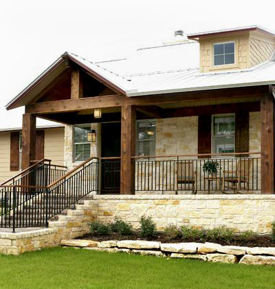 114 best images about exterior home design on pinterest for Texas hill country house plans porches