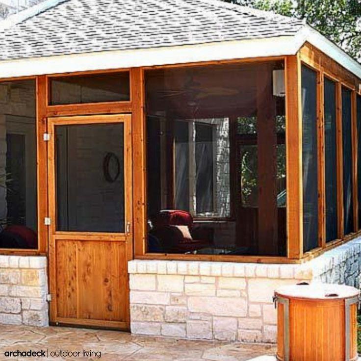 104 best patio ideas with decks, porches, pergolas and gardens ... - Patio Porch Ideas