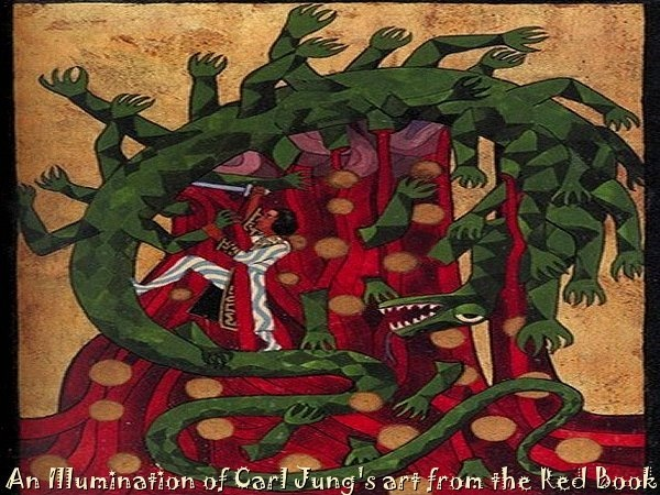 Carl Jung Red Book Illumination #13