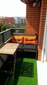 decoracion balcones con cesped artificial - Buscar con Google