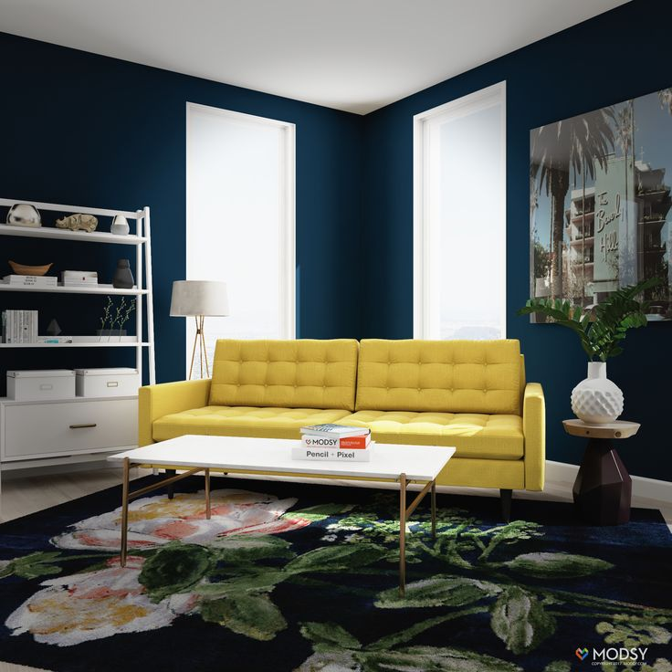 Modern And Contemporary Living Room Ideas U2013 Bright And Colorful Home Design  U2013 Yellow Sofa Ideas