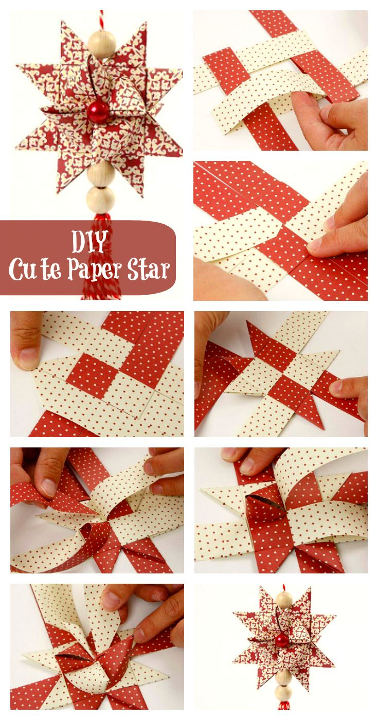 DIY Cute Paper Star