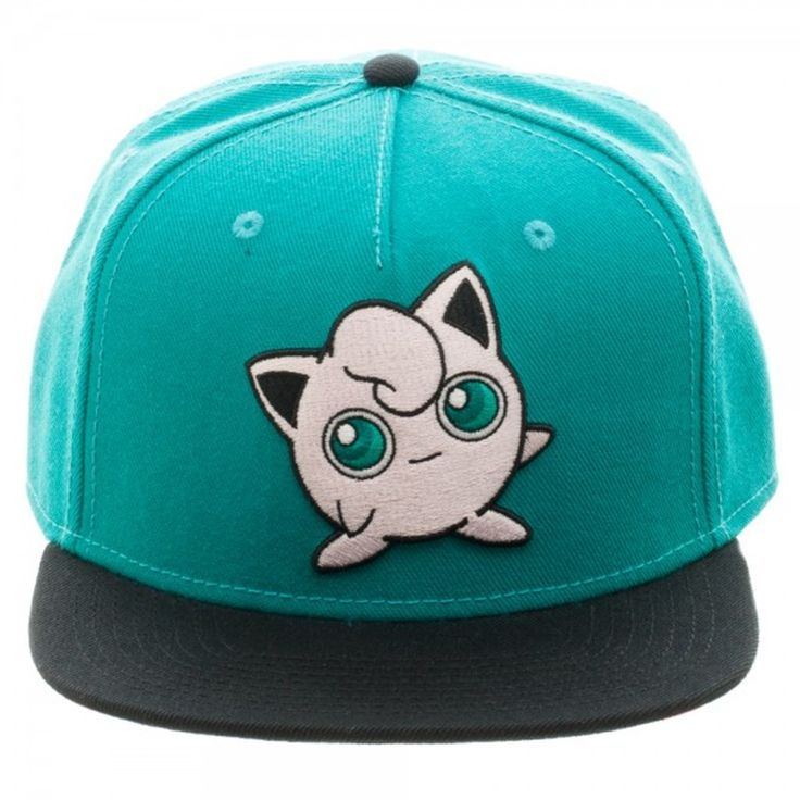 - Officially Licensed Pokemon - Embroidered Logo with Flat Under Visor - Adjustable Snapback - One Size Fits Mostly : Intended for Ages 14 and Older. - 76% Acrylic 14% Wool 10% Cotton