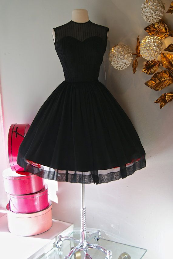 Винтажные платья стиль