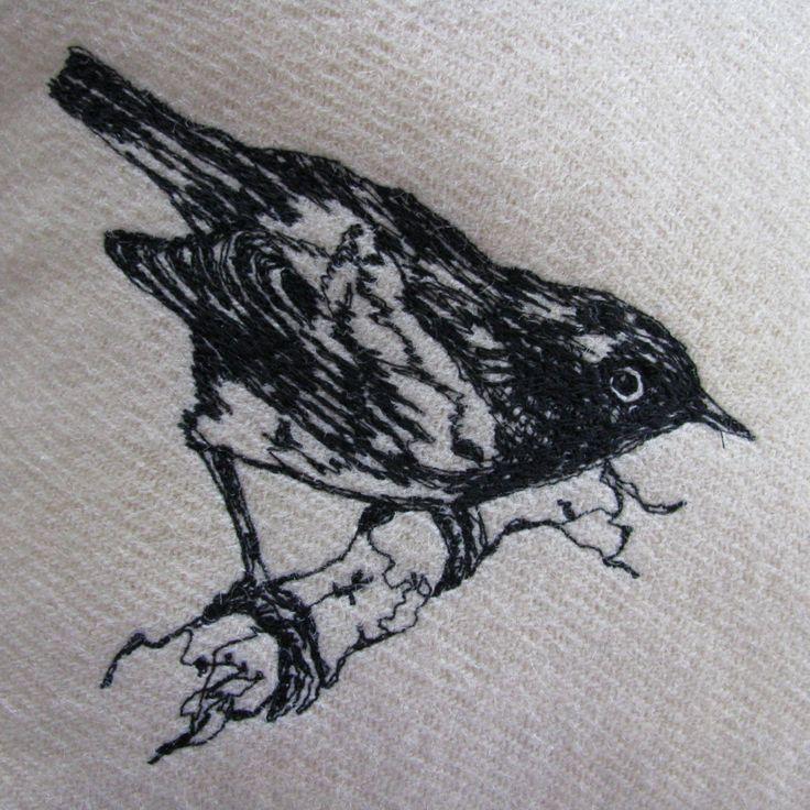 Stitchbird - cushion cover   Felt