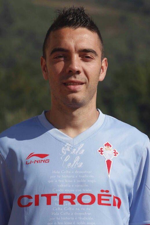 Iago Aspas    Vigo, xogador do Celta de Vigo
