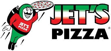 JET'S PIZZA. Yeah!   Per the ingredients listed online, he round or square dough pizzas, pizza sauce and cheese are all soy and soybean oil free.   If you're allergic/avoiding soy: Skip the thin crust, any flavored crust, chicken, beef or Italian sausage