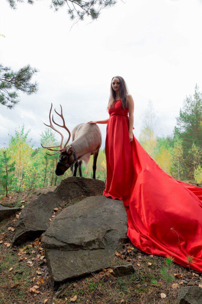 Индивидуальная фотосессия с северным оленем Фотограф - Екатерина Семерикова (http://vk.com/semerikova_eu) Стилист - Вероника Воробьева (http://vk.com/vorobyova_veronika)