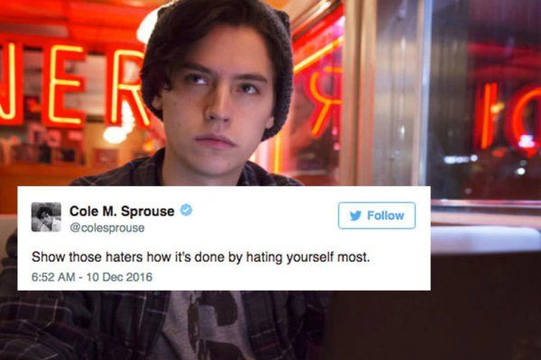 16 Tweets From Cole Sprouse That'll Make You Laugh Out Loud http://www.shenhuifu.org/2017/03/09/funny-cole-sprouse-tweets/ #ColeSprouse #funny #humor