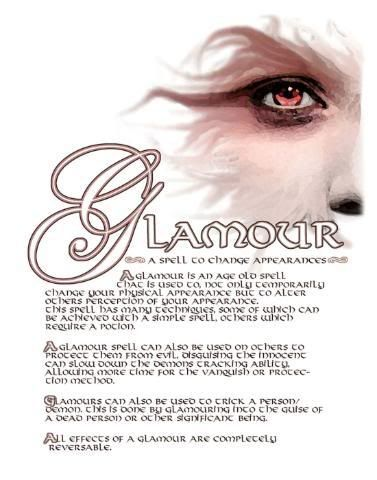 Book of Shadows Pages Free | Glamour Page from the Charmed Book Of Shadows photo Glamour1LeftSide ...