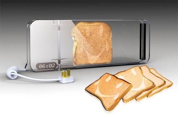 Transparent toaster :)