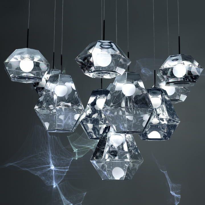 Lighting Trends 2018 2019 Lampe Suspension Verre Design Tom Dixon