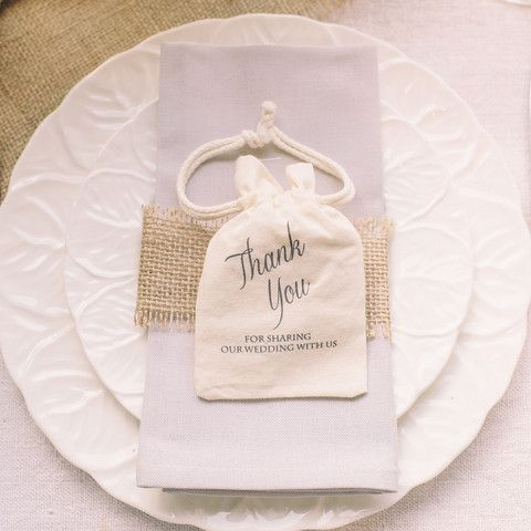 Thank You For Sharing Our Day Favour Bag