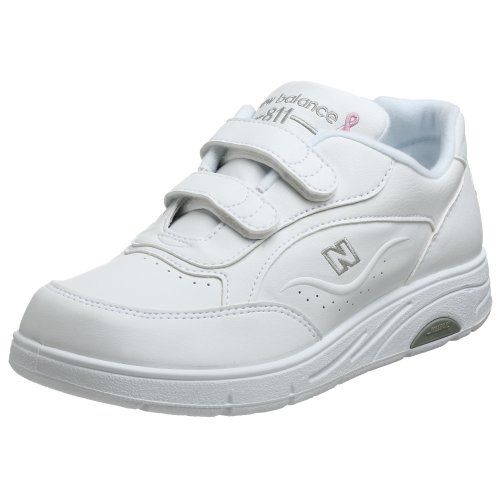 $50.00-$99.95 New Balance Women's WW811 Walking Shoe,White,9 AA - The New Balance 811 is a performance walking shoe with ROLLBAR® for the walker who needs additional stability. Easy and secure Velcro® closing system. Accepted APMA. Race for the Cure. Made in USA. Color: White http://www.amazon.com/dp/B000VUT9P6/?tag=icypnt-20