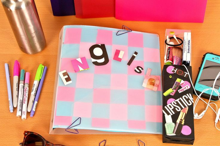 2 Simple Ways to Decorate School Supplies