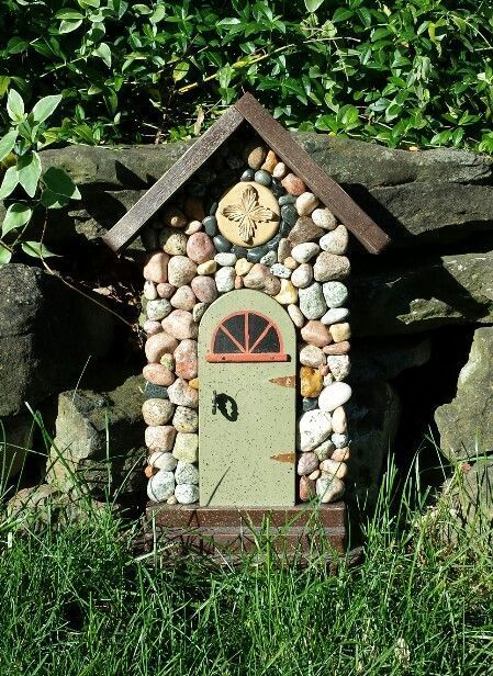 222 Best Fairy Doors Windows And Houses Images On