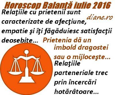 diane.ro: Horoscop Balanţă iulie 2016