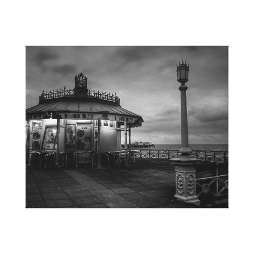 Victorian Hut :- An old Victorian Booth / Hut on Brighton's historic promenade and seafront. The area that it's in was constructed around the 1880's so it's assumed that the hut dates from somewhere around that date too.