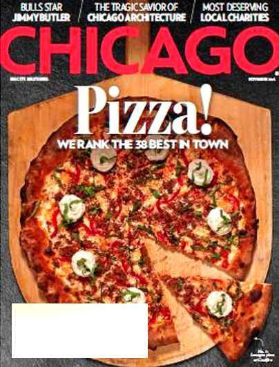 CHICAGO Magazine November 2015 PIZZA The 38 Best In Town, NBA Bulls Jimmy Butler