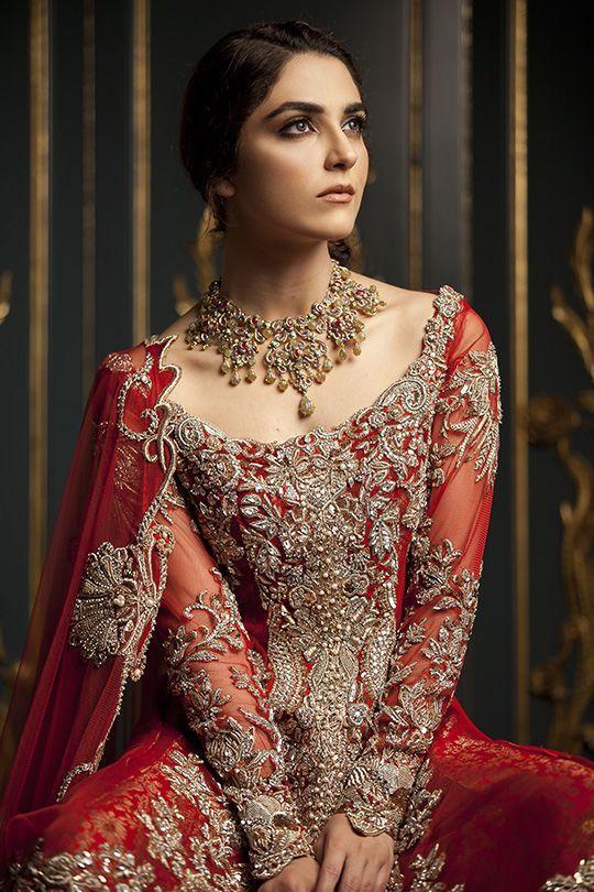 Maya Ali for Ammara Khan Il Giglio Bridals F/W... : pakistanifashionedits