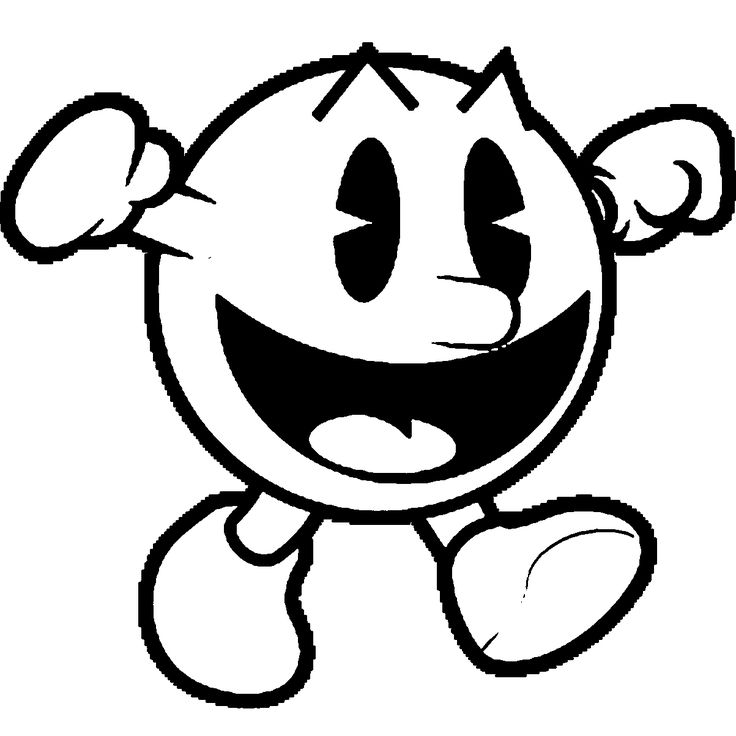 Pacman Coloring Page Wecoloringpage 43 Wecoloringpage