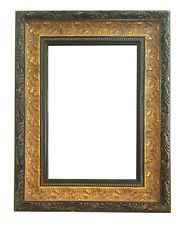 Cornice in legno finitura Oro foglia - ART BR150-ON