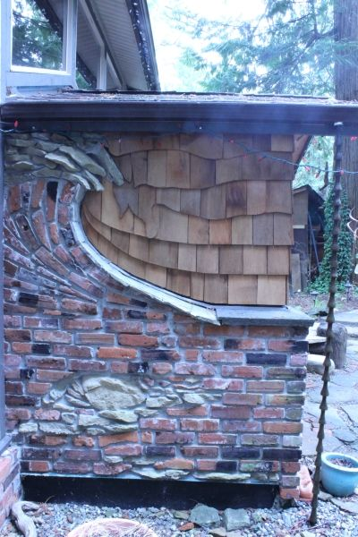 Wave wall inspired after a day of surfing in Tofino - by Stephen Cole