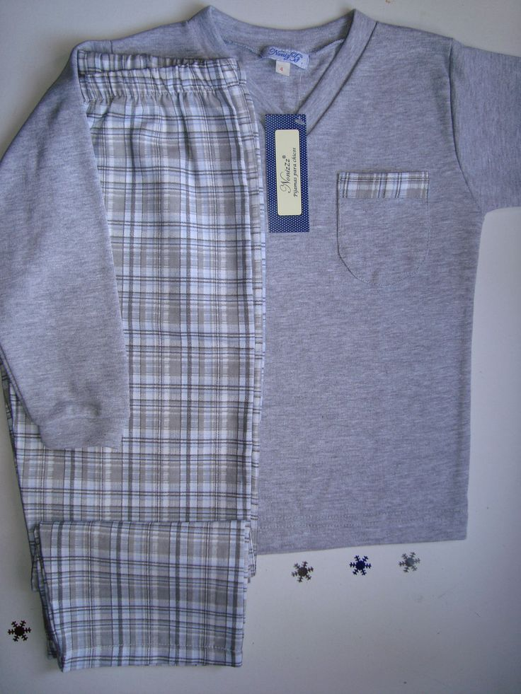 confortable Pijama de varón   talles 4 al 14