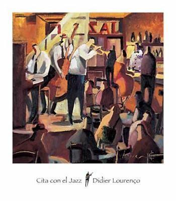 Cita con el Jazz Didier Lourenco Art Print
