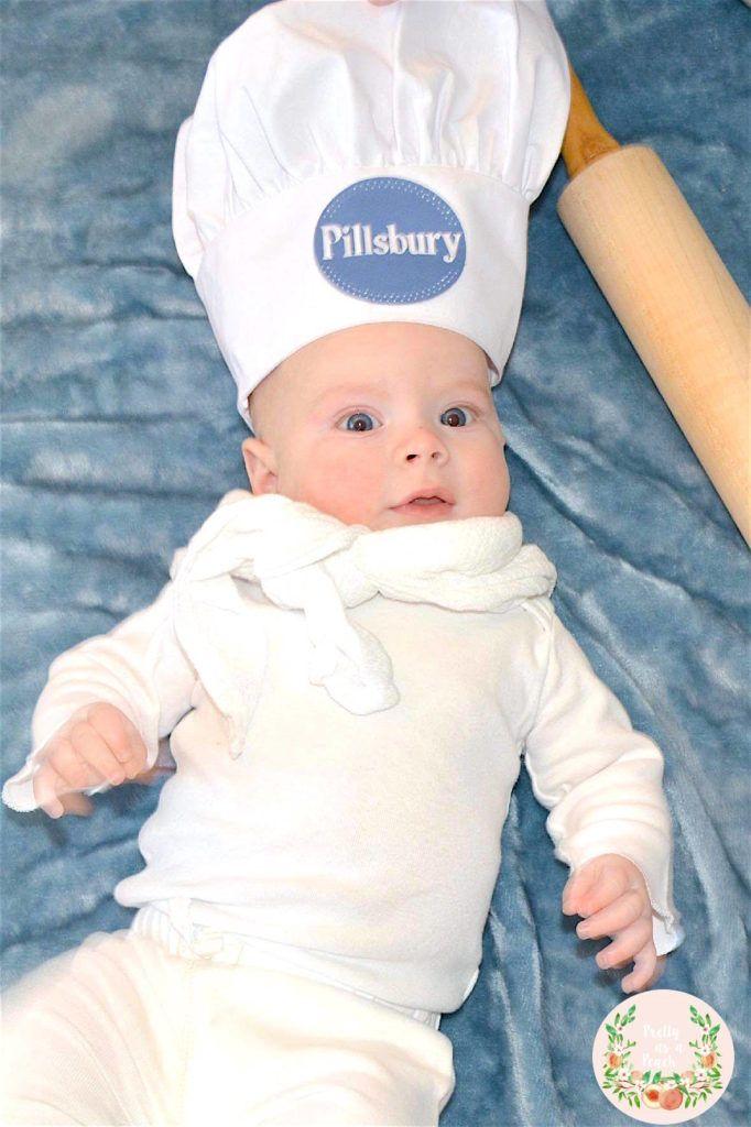 Pillsbury Dough Boy DIY Costume