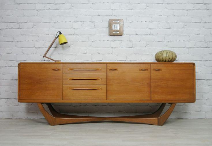 1960s Teak sideboard manufactured by Beithcraft. Wow!